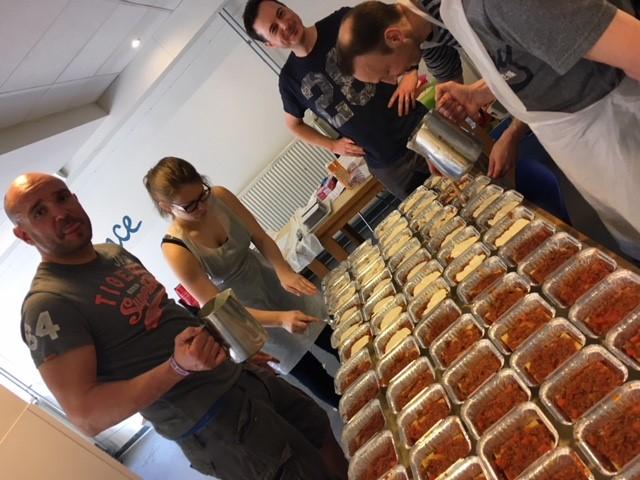 Récoltez 1400€ pour Hunger Race en vendant des lasagnes!