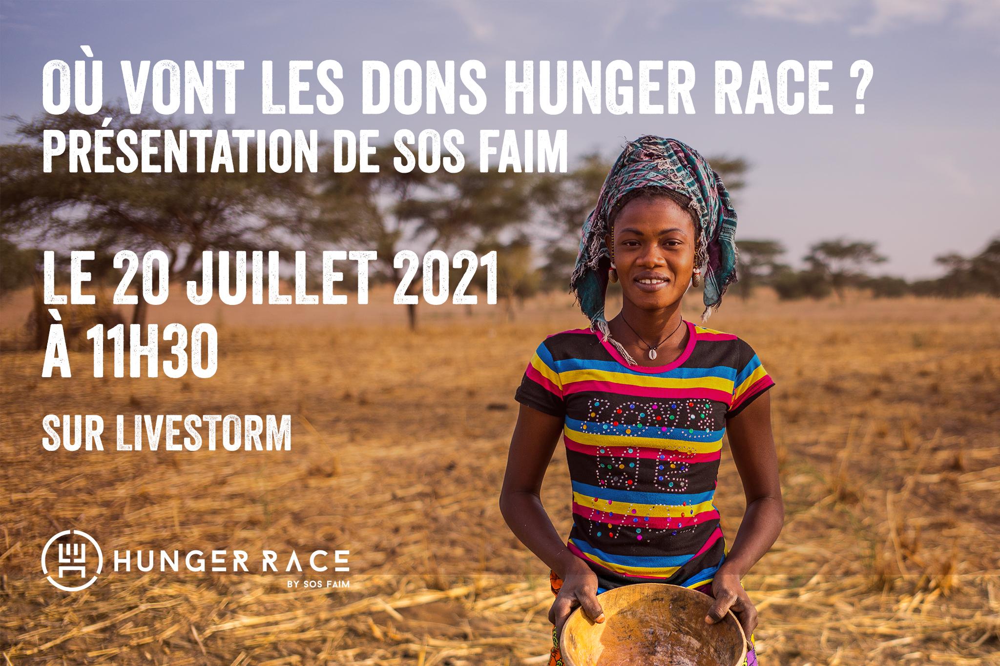 20 juillet – 11h30 – On vous parle de SOS Faim !